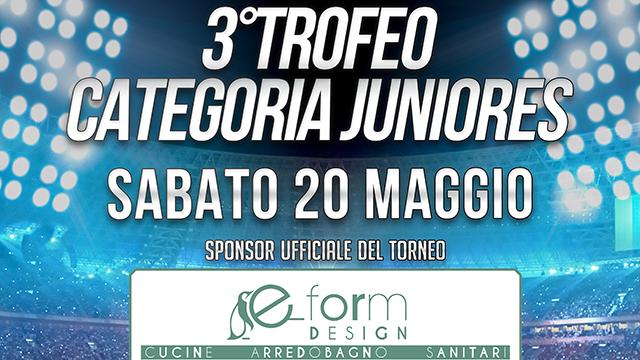 3° trofeo categoria Juniores