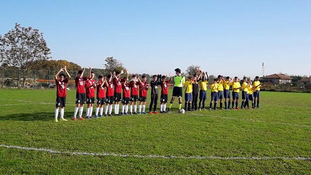 Vittoria per 12 a 1 dei Giovanissimi 2006